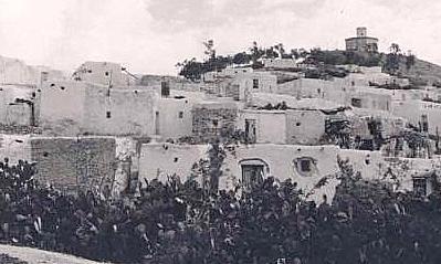 Cañada de la Muerte Melilla principios de Siglo XX