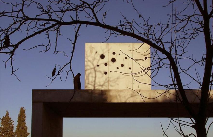 Casa en un huerto con cerezos, Cájar (Granada)
